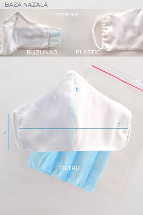 Masca reutilizabila pentru fata - Traditionala 2 [2]