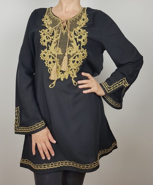 Bluza lunga stilizata Dumitra 0