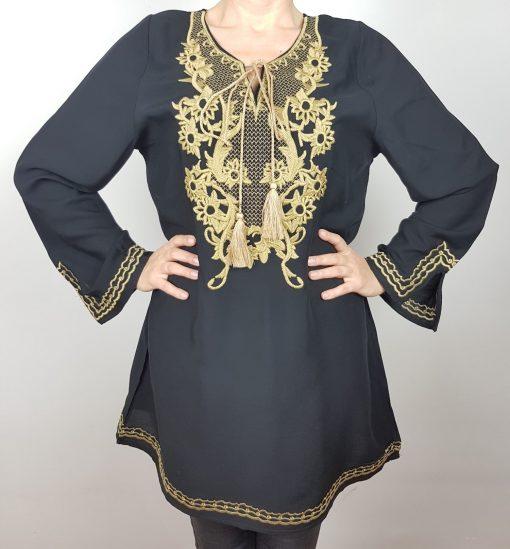 Bluza lunga stilizata Dumitra 2