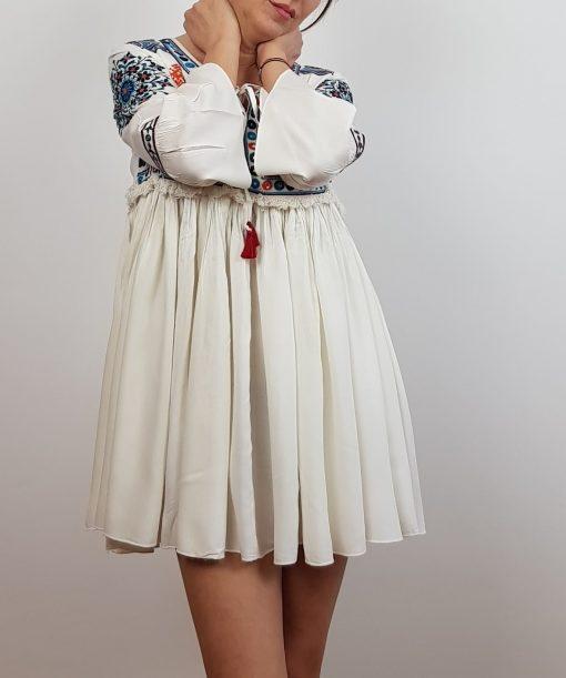 Rochie brodata Giulia 4