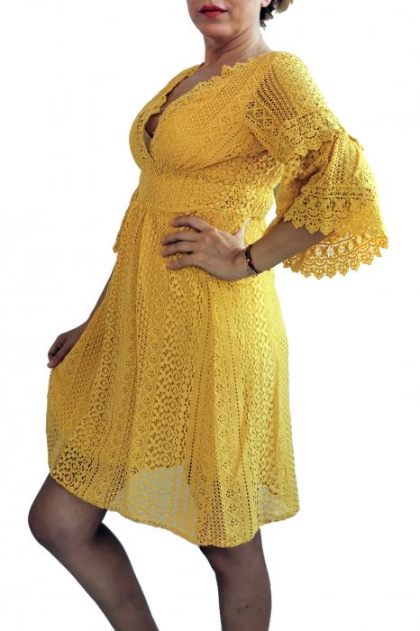 Rochie dantela Evita 2 3