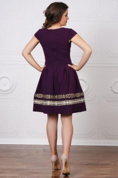 Rochie Stilizata cu Motive Traditionale Adelina 7 1