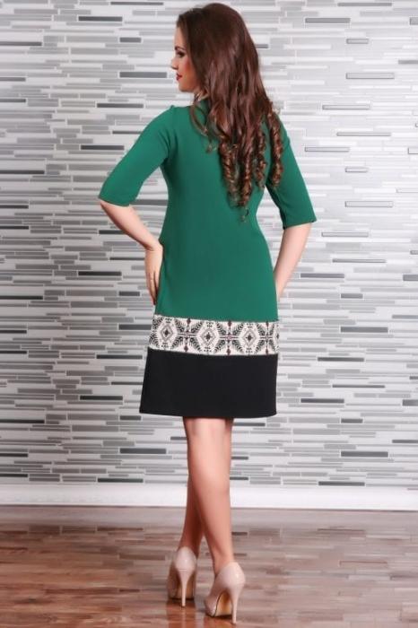 Rochie Stilizata cu Motive Traditionale Camila 1