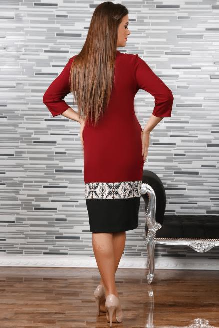 Rochie Stilizata cu Motive Traditionale Camila 4 1
