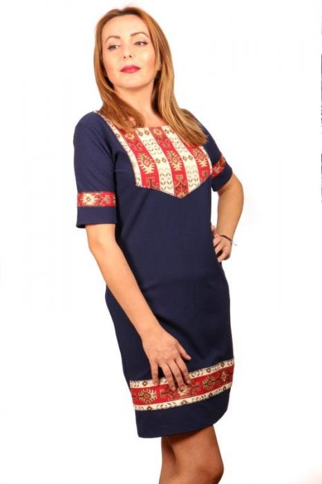 Rochie Stilizata cu Motive Traditionale Izabela 3 0