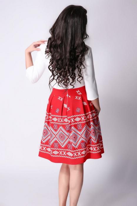 Rochie Stilizata cu Motive Traditionale Sorana 2