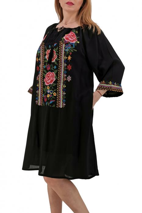 Rochie Traditionala Mela 3 1