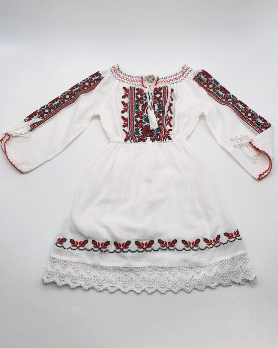 Rochie traditionala fetite Eleonor [0]