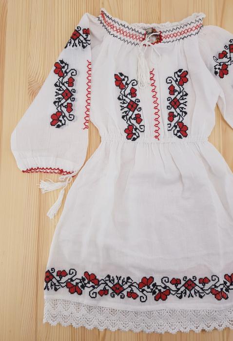 Rochie traditionala Fetita Anca 2
