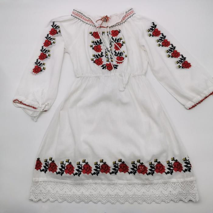 Rochie traditionala fetite Georgeta 0