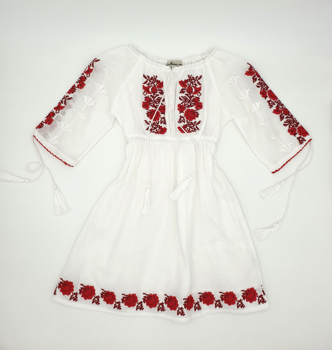 Rochie traditionala fetite Anina 0