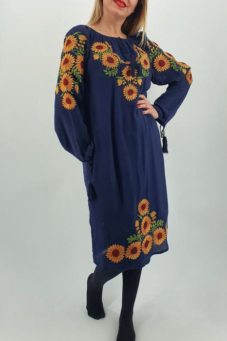 Rochie Traditionala Floarea Soarelui 3 0