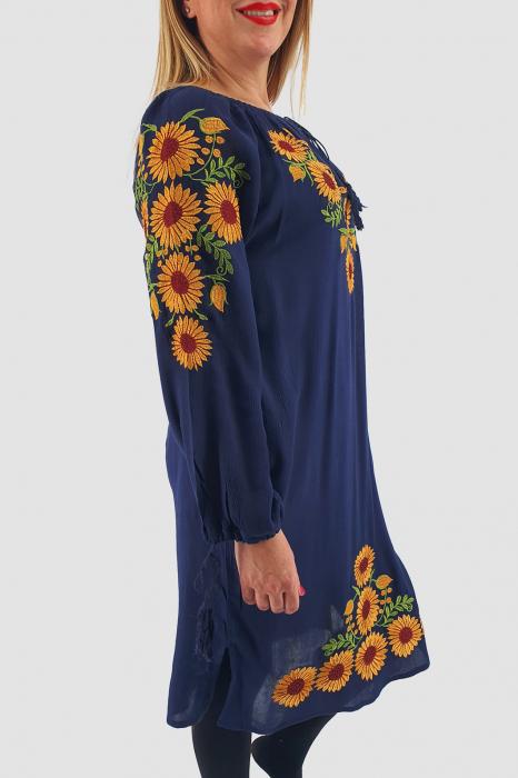Rochie Traditionala Floarea Soarelui 3 2