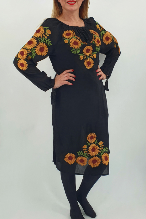 Rochie Traditionala Floarea Soarelui 2 0