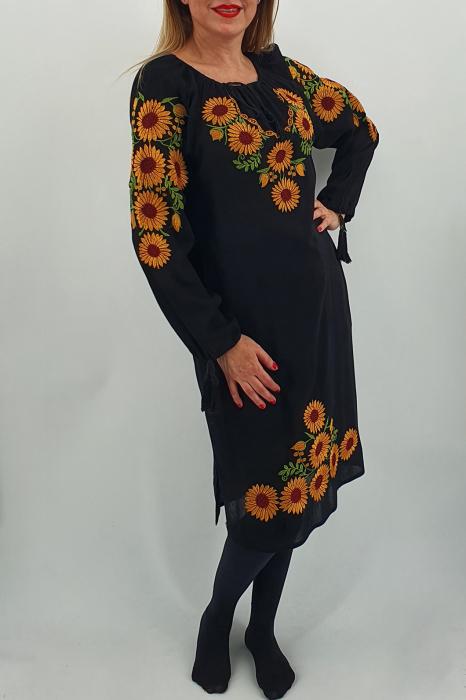 Rochie Traditionala Floarea Soarelui 2 1