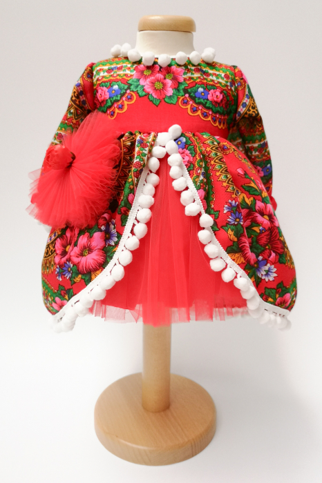 Rochita traditionala fetita Adela Maria 4 0