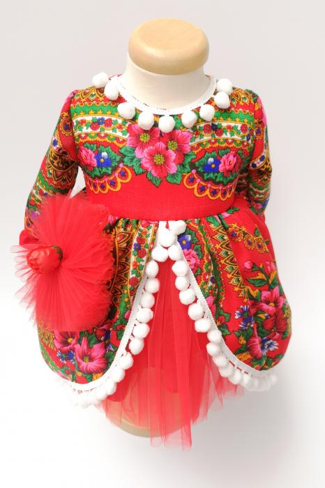 Rochita traditionala fetita Adela Maria 4 4