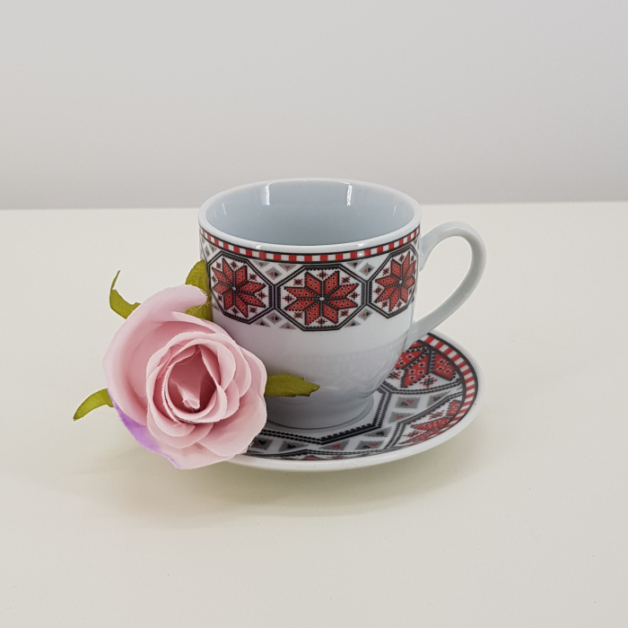Set cafea cu motive traditionale 3