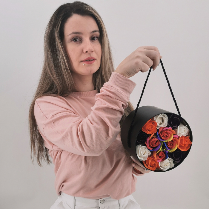 Set cadou – Trandafiri sapun 7 0