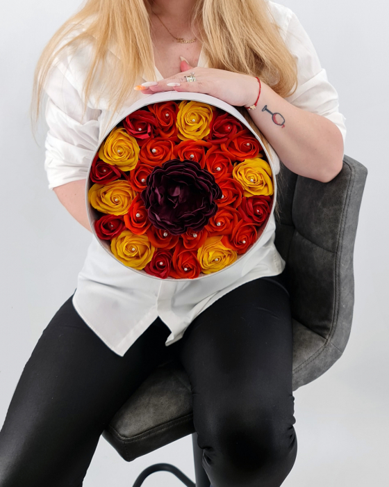 Set cadou – Trandafiri sapun – Raza de Soare 1