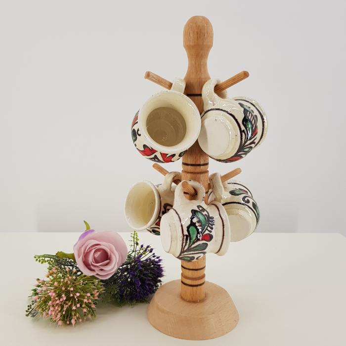 Set canute tuica/visinata ceramica de Corund 2