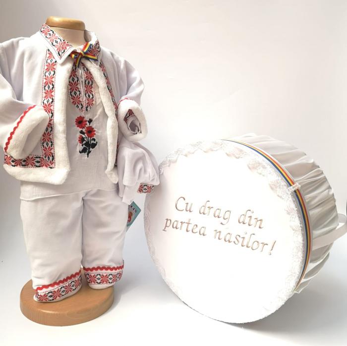 Set Traditional Botez Baiat - Costumas + Cutie 2 0