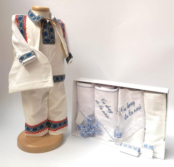Set Traditional Botez Baiat - Costumas + Trusou baiat 4 0