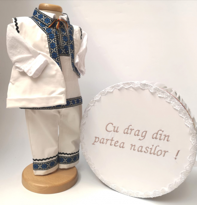 Set Traditional Botez - Costumas baiat Cutie trusou Irinel