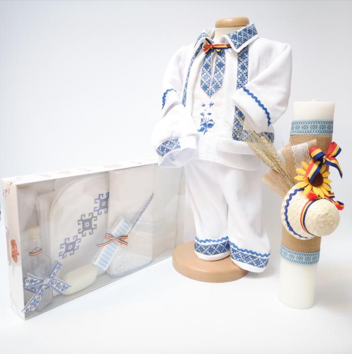 Set Traditional Botez - Costumas baietel/Trusou/Lumanare [0]