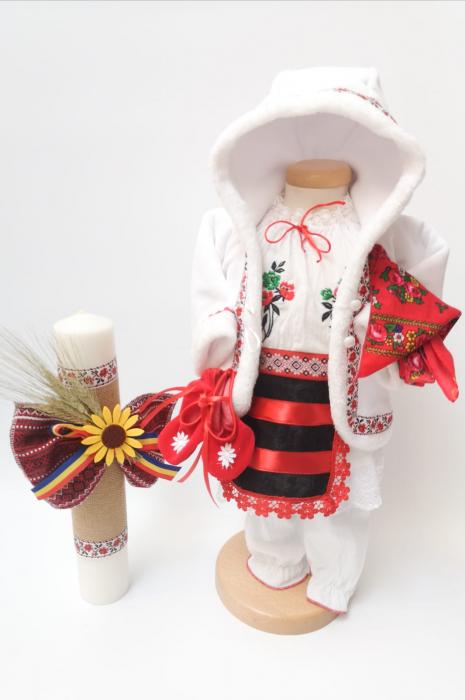 Set Traditional Botez - Costumas fetita/Lumanare 5 [0]