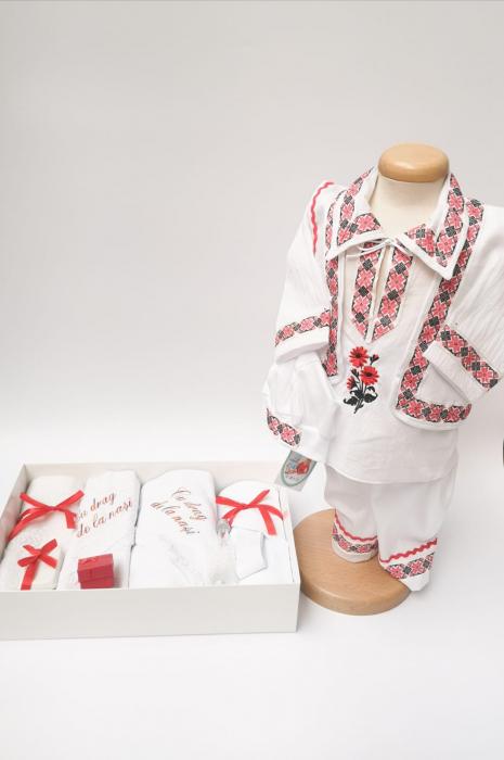Set Traditional Botez - Costumas baiat/Trusou baiat 0