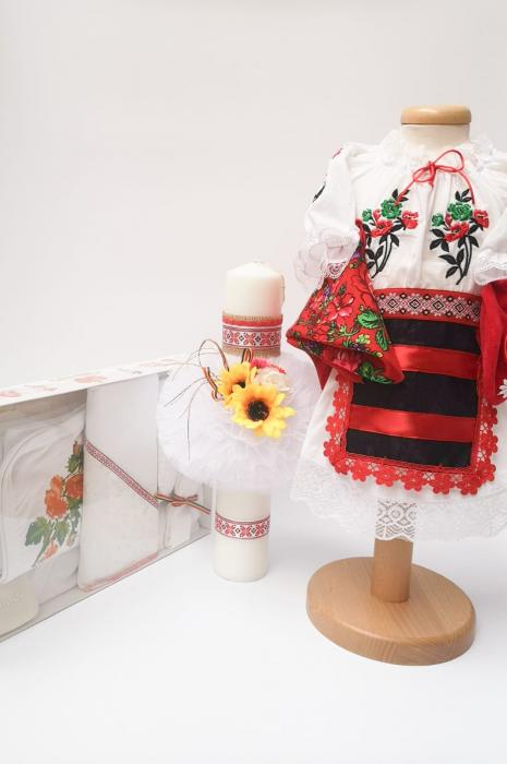 Set Traditional Botez - Costumas fetita/Trusou/Lumanare [0]