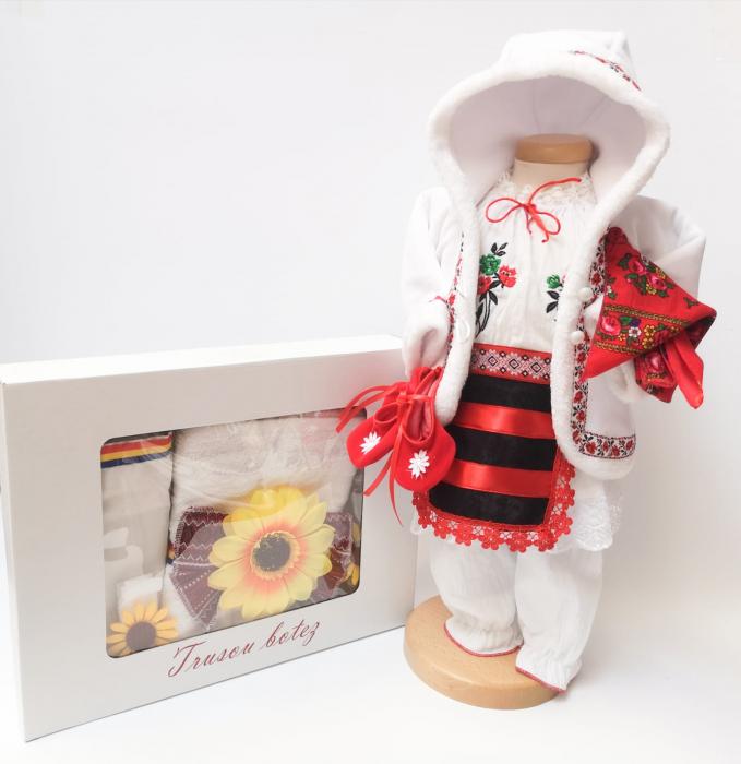 Set Traditional Botez - Costumas fetita Trusou 5