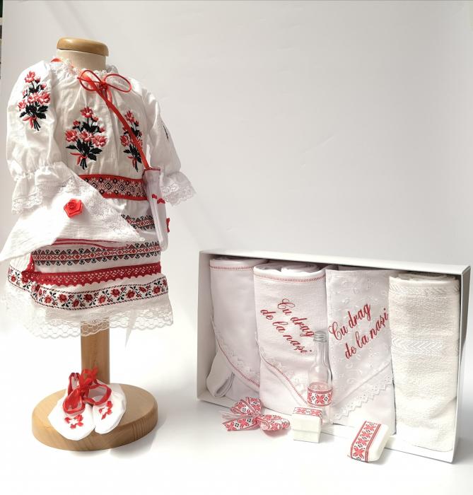 Set Traditional Botez Fetita - Costumas + Trusou 5 0