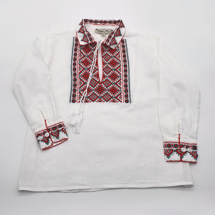 Set Traditional - Camasa Tata / Camasa fiu Carin 1