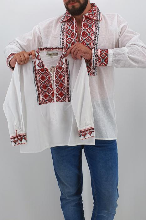 Set Traditional - Camasa Tata / Camasa fiu Carin 0