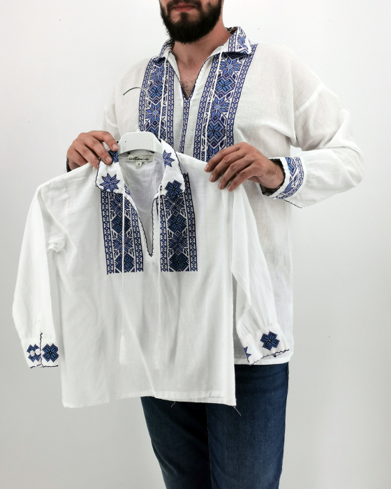 Set Traditional - Camasa Tata / Camasa fiu Manole 2 0