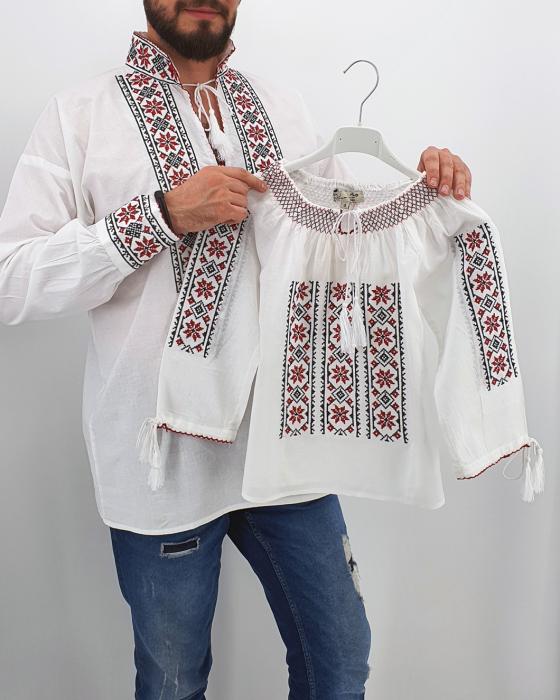 Set Traditional - Camasa Tata / IE Fiica 0