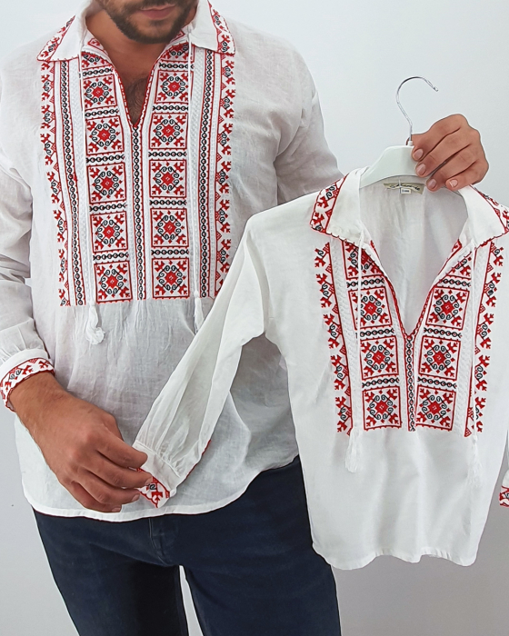 Set Traditional - Camasa Tata / Camasa fiu Mihaita 0