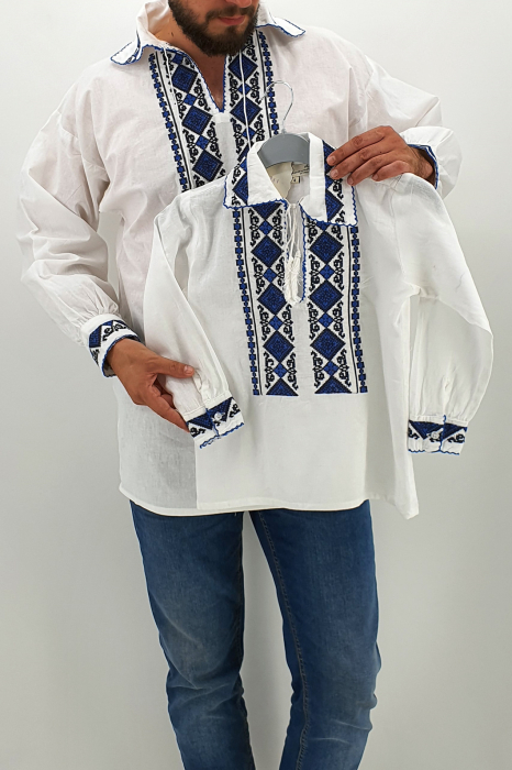 Set Traditional - Camasa Tata / Camasa fiu Ronald 2 0
