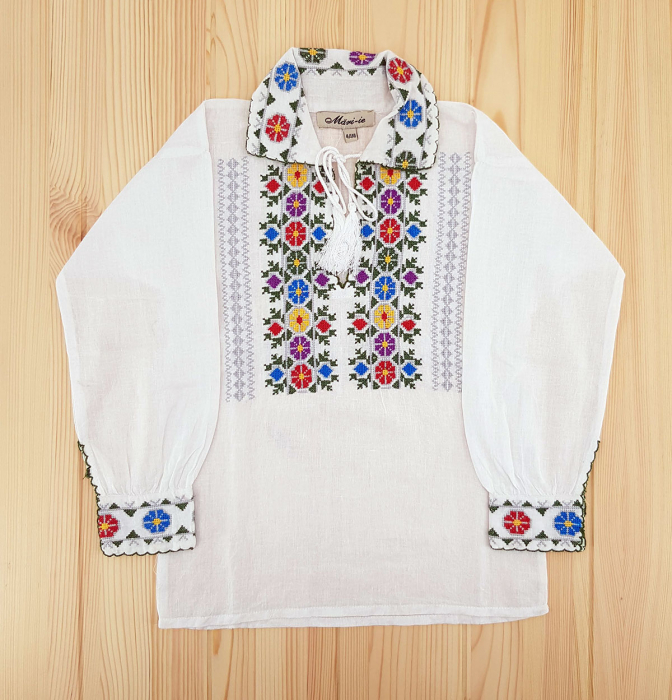 Set Traditional - Camasa Tata / Camasa fiu Cosmin [1]