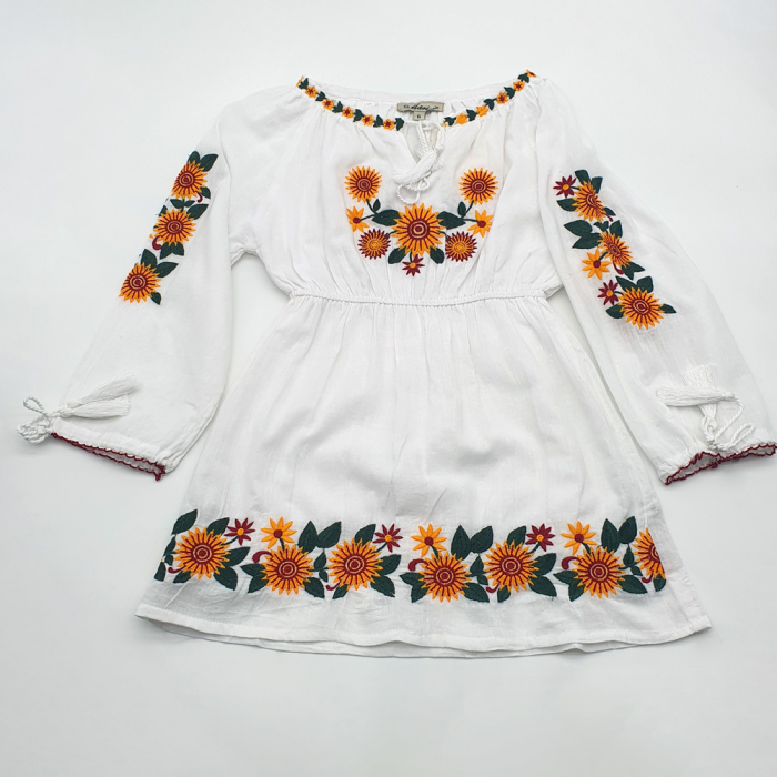 Set Traditional/IE traditionala Mama/Rochie Traditionala fiica Aliona 1