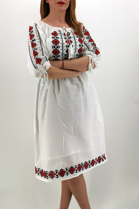 Set Traditional/Rochie traditionala Mama/IE Traditionala fiica Ivana 3