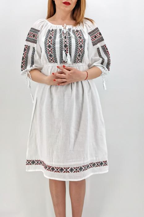 Set Traditional/Rochie traditionala Mama/IE Traditionala fiica 2 3