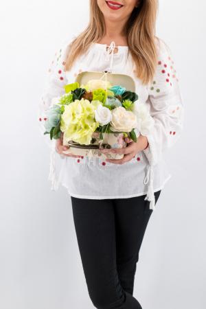 Aranajment floral - Valiza cu Flori - Mic 2 [1]