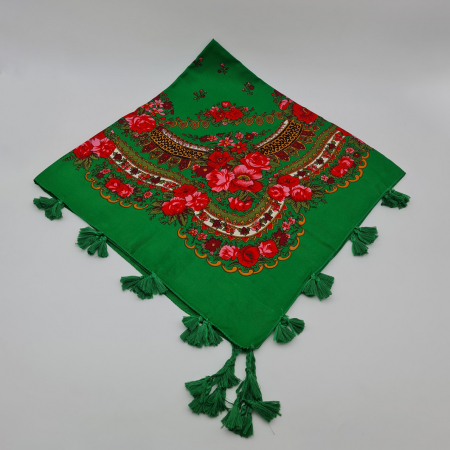 Batic etno mare - Crinuta - Verde0