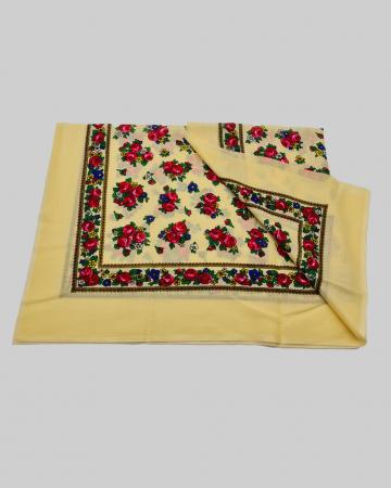 Batic Traditional cu Imprimeu Floral [3]