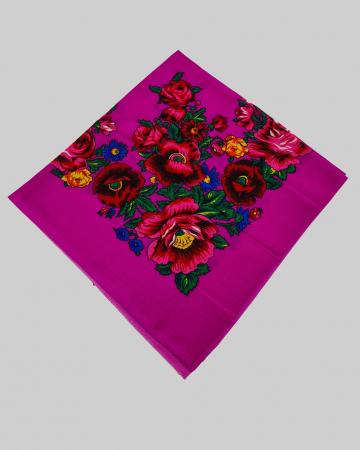 Batic Traditional cu Imprimeu Floral [10]