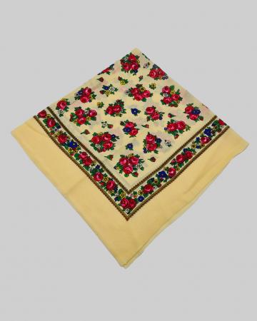 Batic Traditional cu Imprimeu Floral [11]