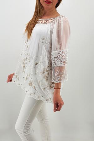Bluza din matase Anastasia 54